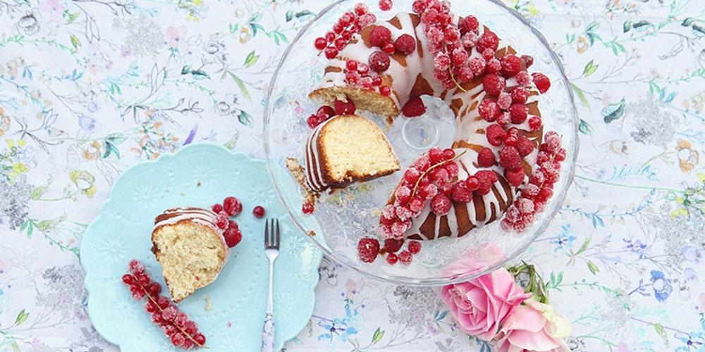 Saftiger Vanillekuchen