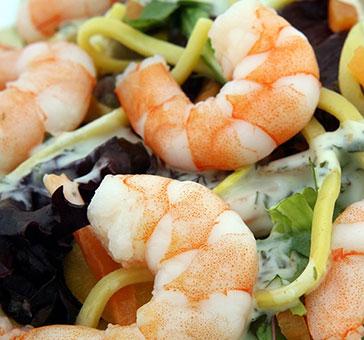 Salat-mit-Shrimps
