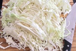 Sauerkraut-Herstellung